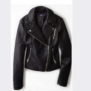 American Eagle Faux Leather Jacket
